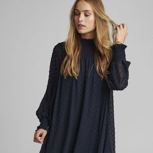 HOST PICK 🌟Zara black dot chiffon dress Size S